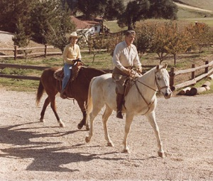 RON & NANCY HORSEBACK RIDING