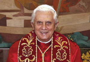 Official Vatican Portrait of Pope Benedict XVI